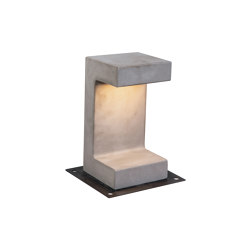 Decorative Outdoor | E191 | Outdoor floor-mounted lights | ALPHABET by Zambelis