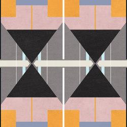 Chimera | Decoro radici grigio | Ceramic tiles | FLORIM