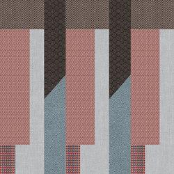 Chimera | Decoro ritmo azzurro b | Ceramic tiles | FLORIM