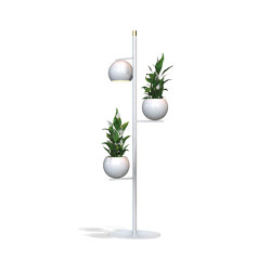 Globe | Tria Up and Tria Down | Free-standing lights | Bloss