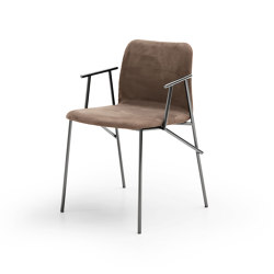 Alunna with armrest | Sillas | Pianca