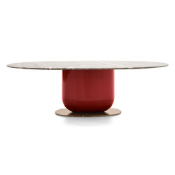 Ettore Eliptical Table | Mesas comedor | Pianca