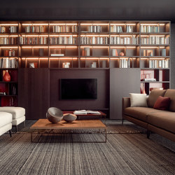 Spazioteca Composition 05 | Wall storage systems | Pianca