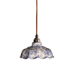 Avalon Pendant Blue Imari | Suspended lights | Lyngard
