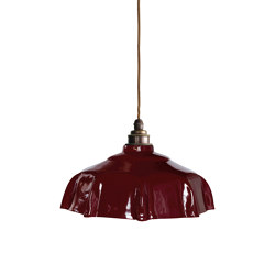 Campbell Pendant Claret | Suspended lights | Lyngard