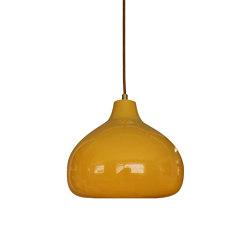 Cooper Large Pendant Amber | Suspended lights | Lyngard