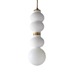 Cooper Three Micro Pendant White   Suspended lights   Lyngard