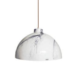 Hoskins XLarge Pendant Marble | Suspended lights | Lyngard
