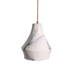 Lantern Large Pendant Marble   Pendelleuchten   Lyngard