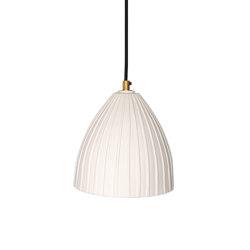 Rushton Small Pendant White | Suspended lights | Lyngard