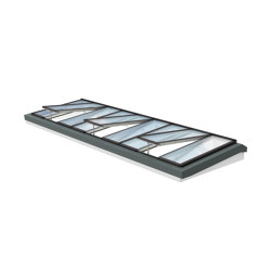 Lichtband 5°–30° | Fenstertypen | Velux Commercial