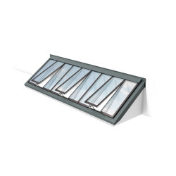 Wall-mounted Longlight 5-45° | Window types | Velux Commercial