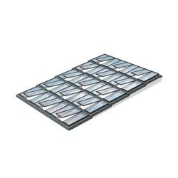 Stufen-Lichtband 5°–25° | Fenstertypen | Velux Commercial