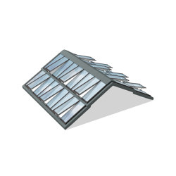 Step Ridgelight 5° with Beams | Sistemas de ventanas | Velux Commercial