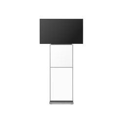 usmDESIGN | cubeSYSTEM FH | Supporti multimediali | infoWERK technik manufaktur