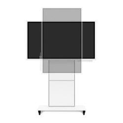 usmDESIGN | flipSTAND FM-H | Multimedia stands | infoWERK technik manufaktur