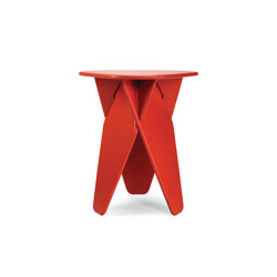 Wedge Table red | Side tables | Caussa