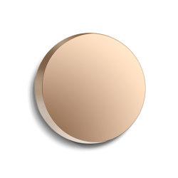 Cres Mirror bronze (Ø 65 cm) | Mirrors | Caussa