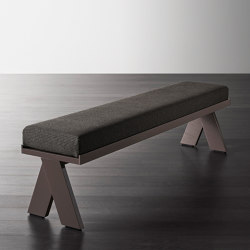 Joi pouf and benches | Bancos | Meridiani