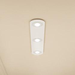 Casablanca Tet Multi Multi (3) Ceiling Luminaire | Recessed ceiling lights | Millelumen