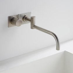 132 - One-handle build-in mixer | Wash basin taps | VOLA