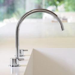 KV15 - Three-hole mixer combination | Kitchen taps | VOLA
