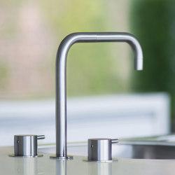 KV4 - Three-hole mixer combination | Kitchen taps | VOLA