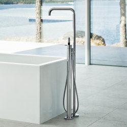 FS1 - Free-standing bath mixer with hand shower | Shower controls | VOLA