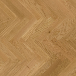 Herringbone Parquet Matte Lacquer | Halmstad, Oak | Wood flooring | Bjelin