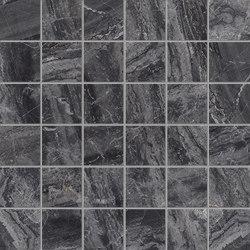 Purity of Marble Brecce Breccia Nera Mosaico | Ceramic mosaics | Ceramiche Supergres
