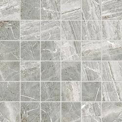 Purity of Marble Brecce Orobica Grigia Mosaico | Ceramic mosaics | Ceramiche Supergres