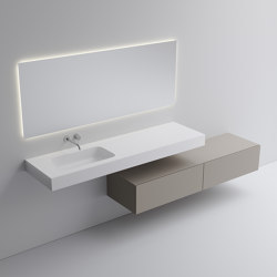 Murale Solo | Vanity units | Vallone