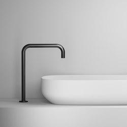 Nero 28 H   Wash basin taps   Vallone
