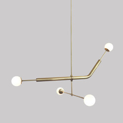 Light Object 020.2 - LED bulb, natural finish | Suspensions | Naama Hofman Light Objects