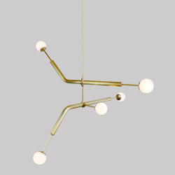 Light Object 020.3 - LED bulb, natural finish | Suspensions | Naama Hofman Light Objects