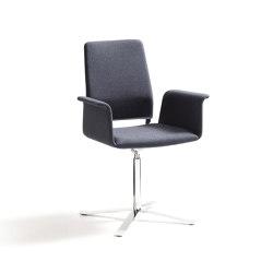 Fino chair, 4 foot rotary frame | Sillas | COR