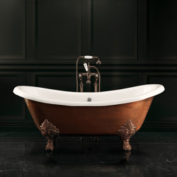 Chérie Copper Effect Bathtub | Bathtubs | Devon&Devon