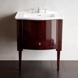 Domino Mahogany Westminster Vanity Unit | Vanity units | Devon&Devon