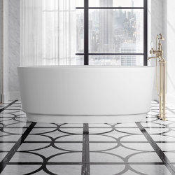 Dove bathtub in White Tec Plus | Bathtubs | Devon&Devon