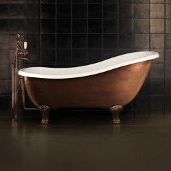 Regina Copper Effect Bathtub | Bathtubs | Devon&Devon