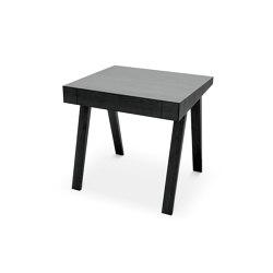 4.9 Writing Desk, 1 drawer, black | Desks | EMKO