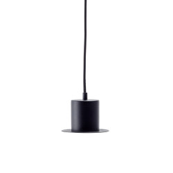 HAT Pendant Lamp, cylinder | Metal sheets | EMKO