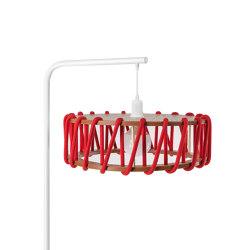 Macaron Floor Lamp, red | Free-standing lights | EMKO