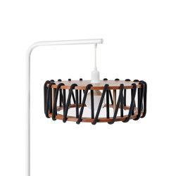 Macaron Floor Lamp, black | Free-standing lights | EMKO