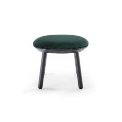 Naïve Ottoman, green, velour | Pouf | EMKO