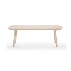 Naïve bench, 140 cm, ash   Dining tables   EMKO