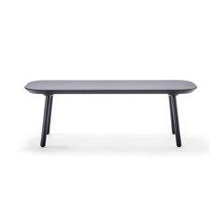 Naïve bench, 140 cm, black | Benches | EMKO