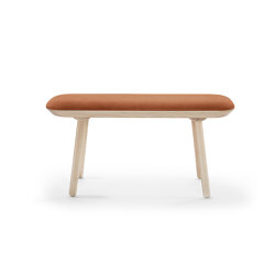 Naïve bench, 100 cm, terracota, velour | Benches | EMKO