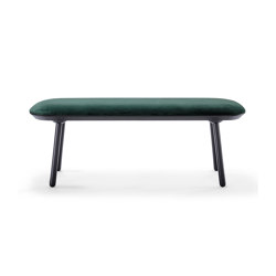 Naïve bench, 140 cm, green, velour | Benches | EMKO