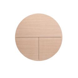 Pill  Multifunctional cabinet, white-light cherry veneer | Shelving | EMKO